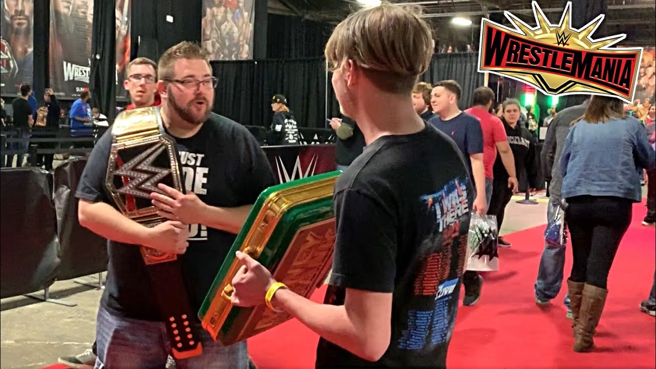 KID CASHED IN at WWE AXXESS (Wrestlemania Weekend 2019)