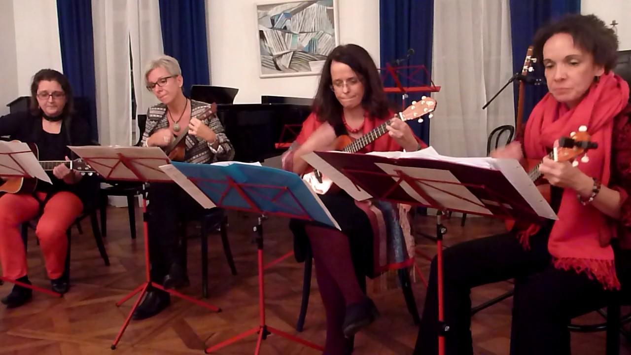 Sing Noel. Afrikanisches Weihnachtslied. Grazer Ukulele Ensemble ...