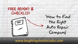Auto Repair Shop Animation Powtoon Explainer Lead Generation Marketing Video America USA Voice Over