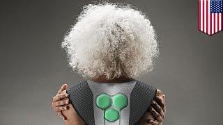 Wearable tech  Superflex designs Aura Powered suit to help elderly people get around   TomoNews