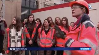 Girls on the Move Day : reportage sur le chantier Bouygues Constructio…