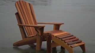 adirondack cedar chair howto