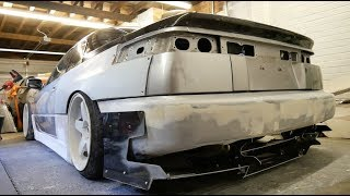 The SVX gets cut up!