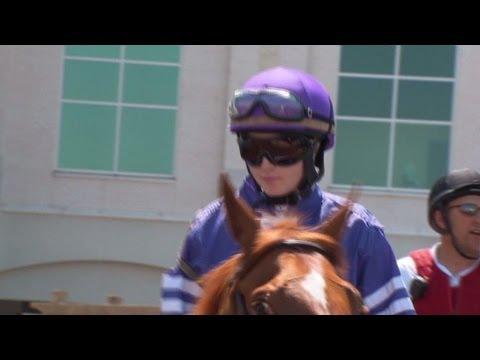 Female jockey aims to make Kentucky Derby history