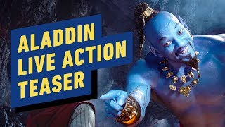 Aladdin - Live Action Teaser Trailer (2019) Will Smith, Billy Magnussen