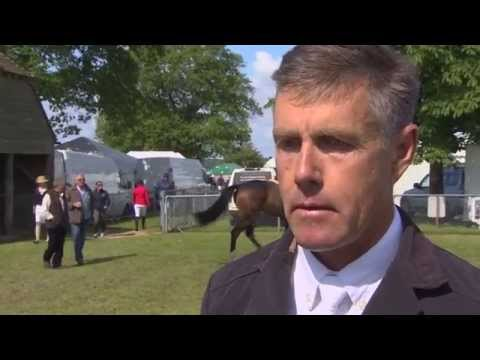 Showjumping -  David McPherson on his horse Cuchino Z