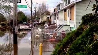 Hurricane Sandy Aftermath - Staten Island, New York