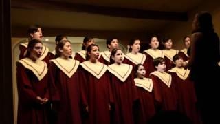 """arbolito coro de voces blancas conservatorio """"Rimsky-Korsakov"""""""