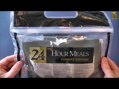 MRE Review - Swedish Army Combat Ration - Oriental Chicken with Couscous (Gen 5 | Menu 8)