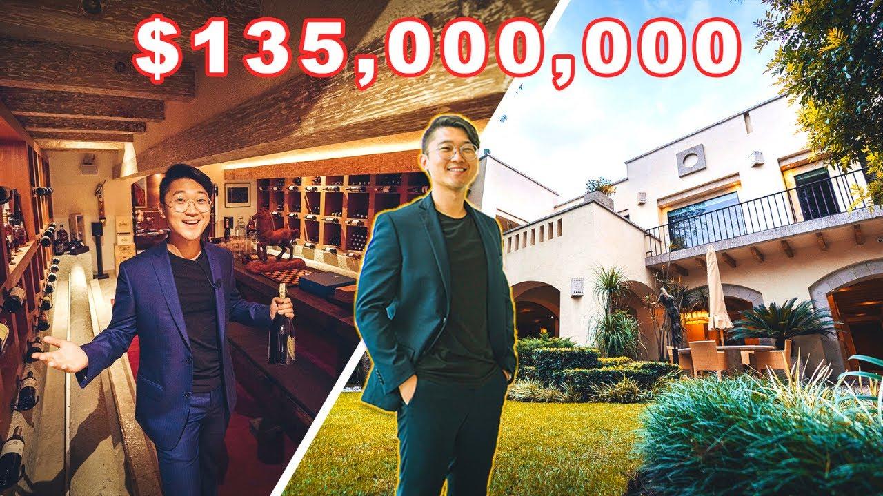 CASA con CUEVA SUBTERRANEA y SIMULADOR DE VUELO de $135 MILLONES