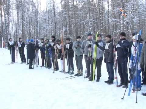 На трассе в дубравушке прошёл 10-й традиционный турнир по лыжам среди сотрудников УВД