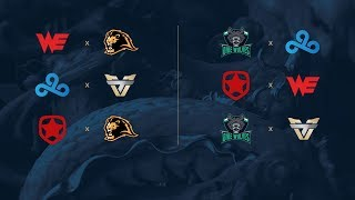 Campeonato Mundial de League of Legends 2017 -  Play-In - Fase de Grupos - Día 1