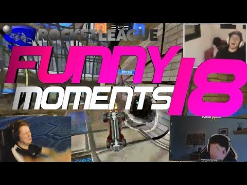 ROCKET LEAGUE FUNNY MOMENTS 18 😆 (FUNNY REACTIONS, FAILS & WINS BY COMMUNITY & PROS!) thumbnail