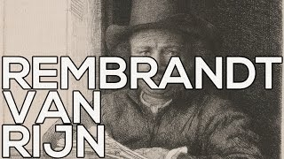Rembrandt van Rijn: A collection of 368 etchings (HD)