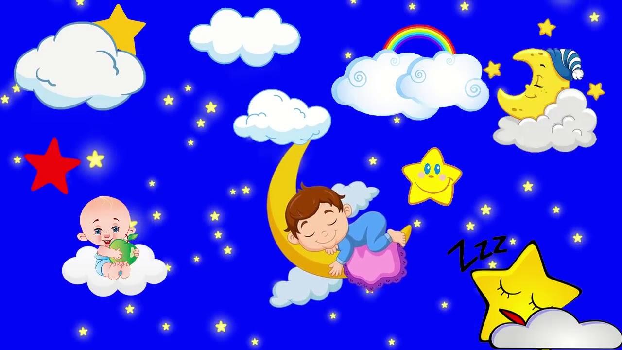 tidur bayi musik lagu bayi bulan lagu pengantar tidur bayi musik bayi cerdas youtube