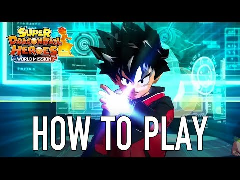Super Dragon Ball Heroes World Mission - SWITCH/PC - How to Play