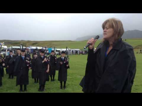 Arisaig Highland Games 2013 Opening Ceremony