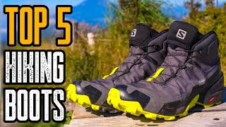 TOP 5: Best Hiking Shoes & Boo…