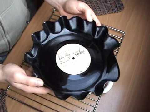 diy record bowl youtube. Black Bedroom Furniture Sets. Home Design Ideas