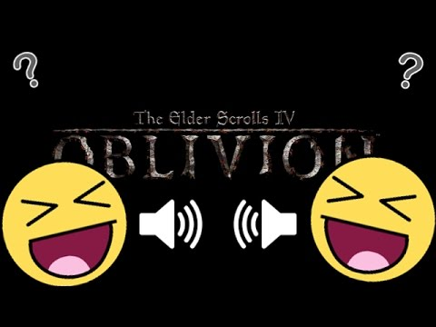The Oblivion Speech System.