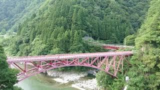 2019/8/14   黒部峡谷鉄道   黒薙~宇奈月