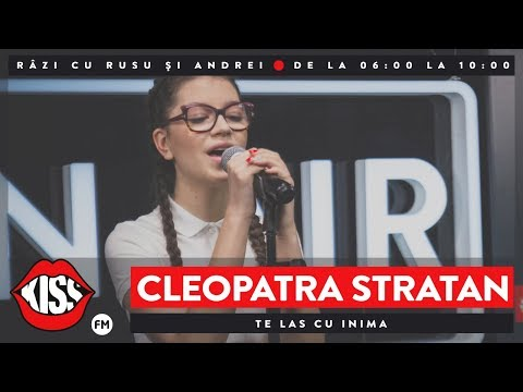 Cleopatra Stratan - Te las cu inima (Live @ Kiss FM)