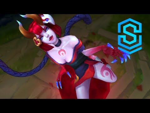 Blood Moon Evelynn Skin Spotlight - League of Legends