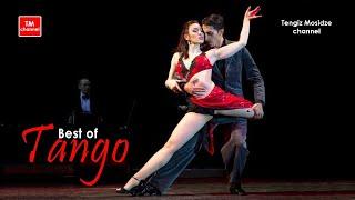 """Tango """"Derecho Viejo"""". Julian Sanchez y Melina Mourino with """"Solo Tango"""" orchestra. Танго. 2014"""