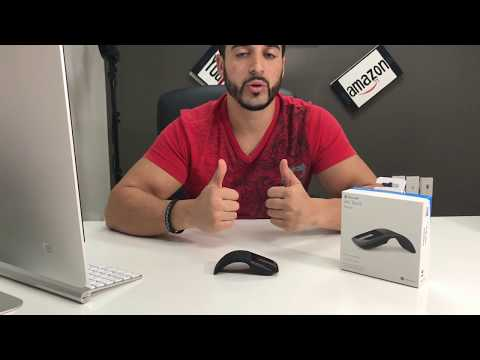 Unboxing Review And Setup Of The Microsoft Arc Touch Mouse 2017