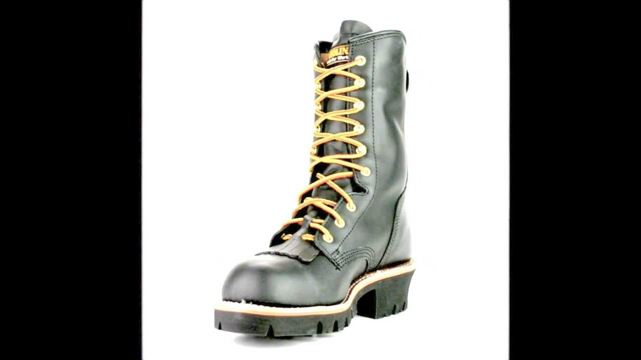 Men's Carolina CA7518 Steel Toe Insulated Logger Work Boot @ Steel-Toe -Shoes.com
