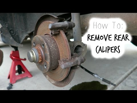 How To: Mk3 Rear Caliper Removal