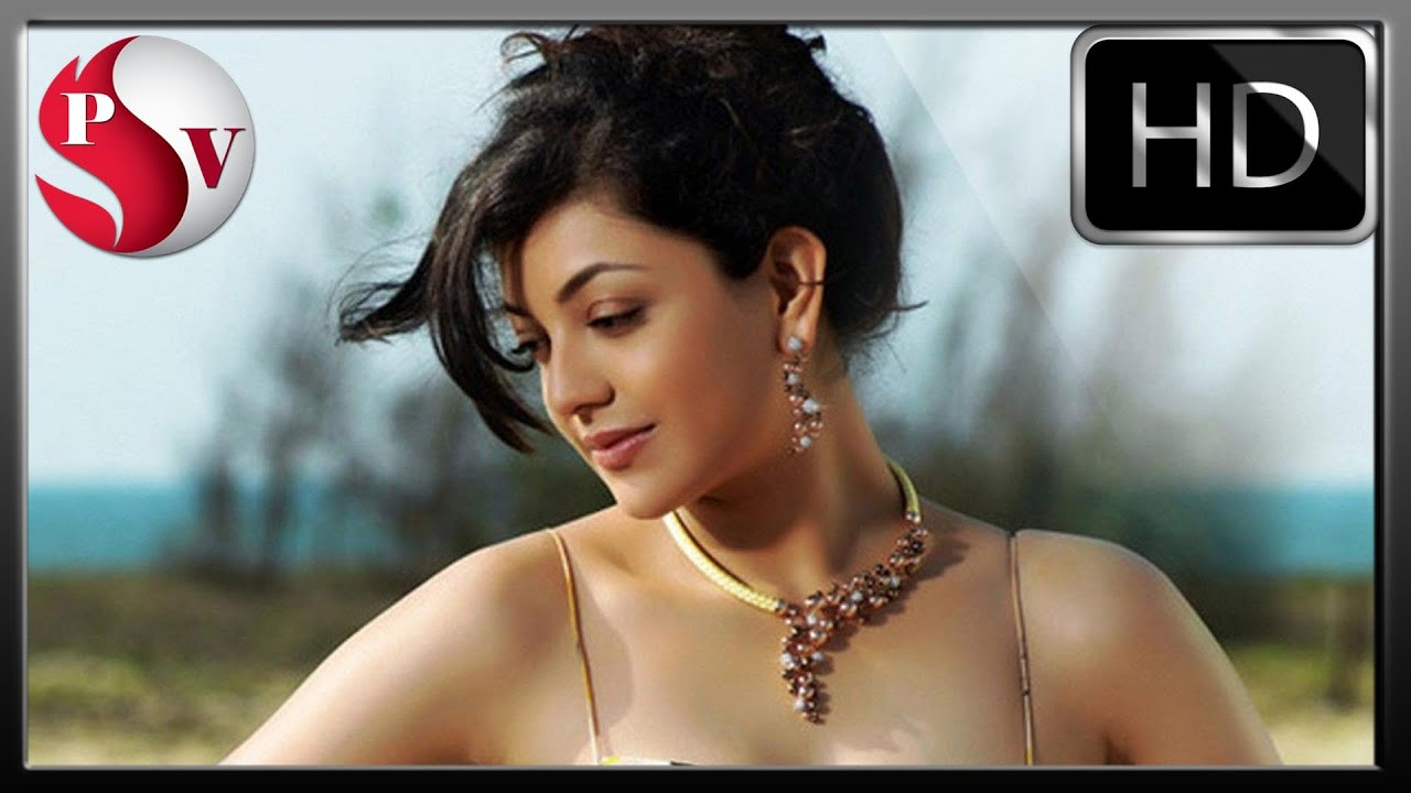 kajal agarwal hot new photoshot - youtube