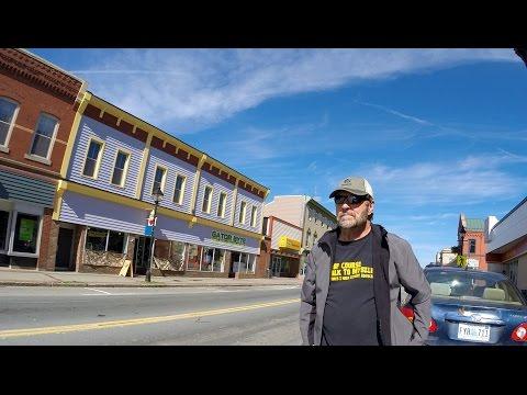 Fast Ride Through Yarmouth Nova Scotia