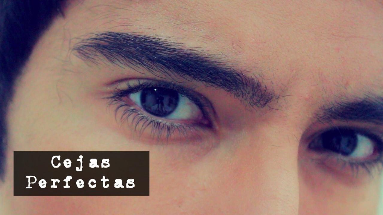 Cejas De Hombre cejas perfectas en 1 minuto para hombres