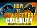 CoD Advance Warfare: How To Aim Better - Improve Your Aim - (Call of Duty Multiplayer Gameplay)