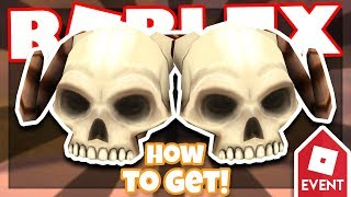 [EVENT] How to get the SKELETAL SHOULDER PADS | Roblox Azure Mines