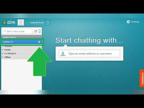 How To Add And Delete Contacts In AOL Mail And AIM