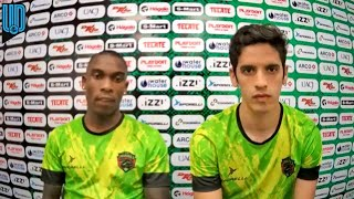 Fabián Castillo, jugador de Juárez, comentó que esperan seguir con los triunfos para conseguir el objetivo