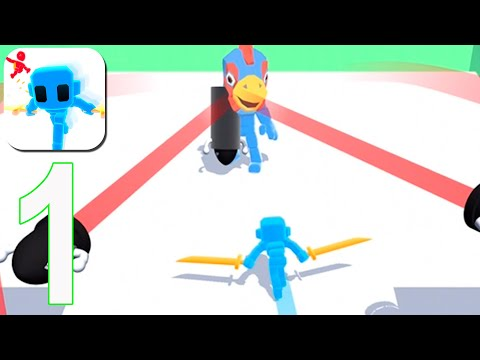 Samurai Flash - Gameplay Walkthrough Part 1 - Level 1-32(iOS, Android)
