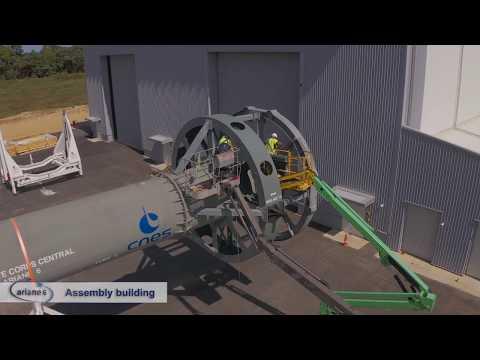 ELA4 - Chantier Ariane 6 - Octobre 2019