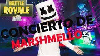 Concierto de Marshmello en Fortnite!!!