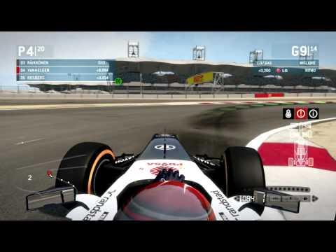 F1 2013 Gran Premio del Bahrain Gameplay Ita PC - Prestazione Magnifica -
