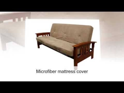 dhp 6 inch futon mattress tan dhp 6 inch futon mattress tan   youtube  rh   youtube