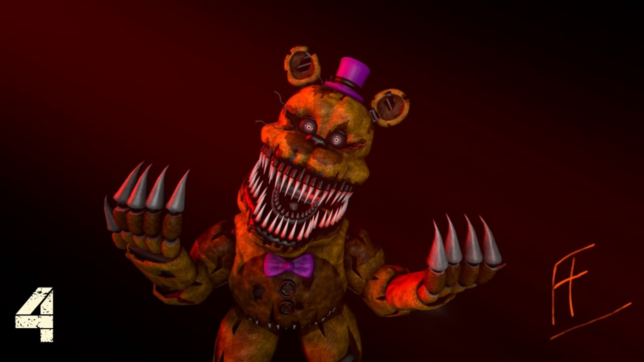 Top 10 Fnaf 4 Wallpapers Five Nights At Freddy S 4 Song By