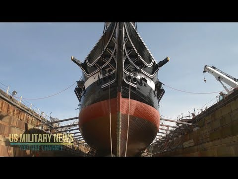 Old Ironsides Sails Again After Two Years of Restoration