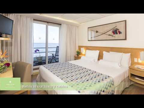 IberoStar Grand Amazon River Cruise Ship Video