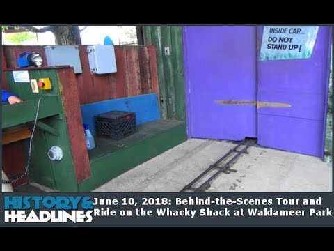 June 10, 2018: Behind-the-Scenes Tour and Ride on the Whacky Shack at Waldameer Park