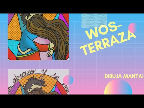 Wos Terraza Ilustrando Canciones Dibuja Manta