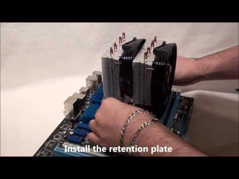 Deepcool FROSTWIN CPU Cooler: AMD installation
