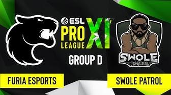CS:GO - FURIA Esport vs. Swole Patrol [Vertigo] Map 1 - ESL Pro League Season 11 - Group D
